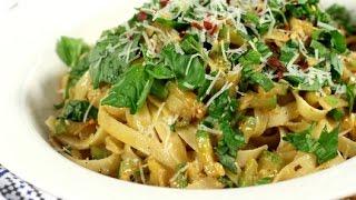 [ARB] المكرونة بالقرع الأخضر / Zucchini pasta - CookingWithAlia - Episode 458