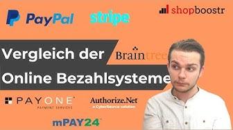Online Bezahlsysteme im E-Commerce: Vergleich der besten Anbieter für Ihren Onlineshop [2019]