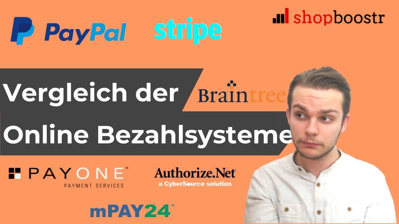 Online Bezahlsysteme Vergleich