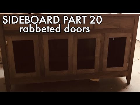 Building a Sideboard part 20: Making the Doors   Hand Tool Woodworking
