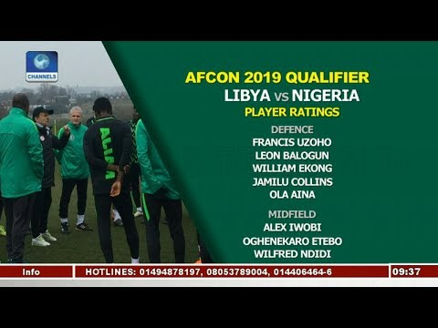 Analysts Rate Eagles Players As Nigeria Beat Libya 3-2 Pt.3 |Sports This Morning|