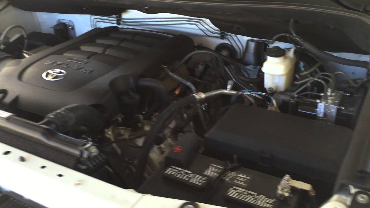 Toyota Tundra Trd Ticking Noise - Resolved