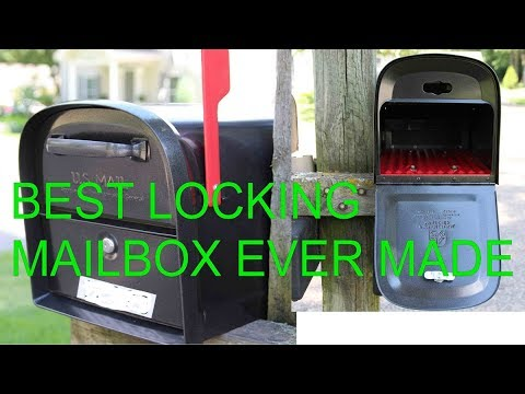 The Best Locking Mailbox on the Market by onza04