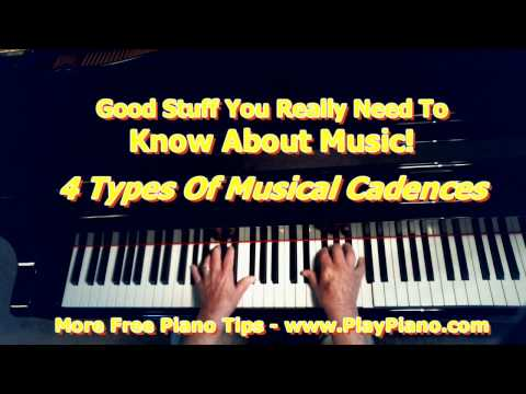 4 Types of Musical Cadences