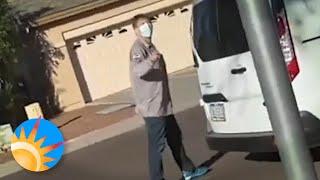 Black Arizona man records repairman threatening to beat him 'like a slave'