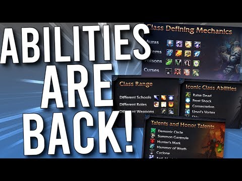 BEST CLASS CHANGE IN SHADOWLANDS! Class Abilities Come Back! - WoW: Battle For Azeroth 8.2
