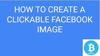 How to create a clickable image on Facebook
