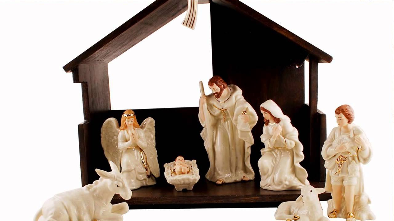 Belleek Classic Nativity Set Youtube