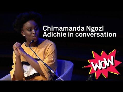 WOW 2017 - Chimamanda Ngozi Adichie in conversation