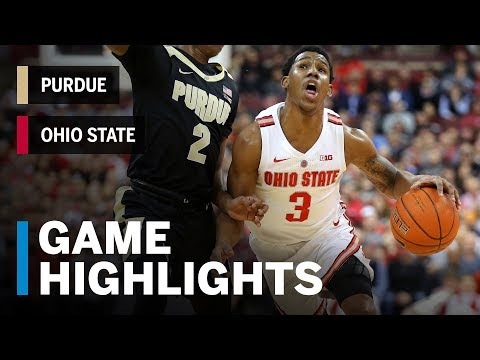 Highlights: Purdue at Ohio State  | Big Ten Basketball
