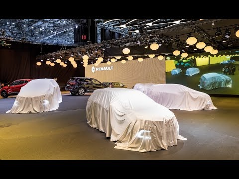 Renault Live Press Conference - 2017 Frankfurt International Motor Show