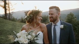 Vows At This First Look Will Make You Cry | Smoky Mountain Wedding Film
