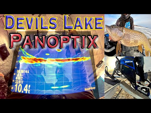 Devils Lake Walleye Fishing On Ice Cold Panoptix