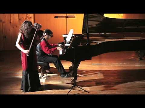 Grieg Sonate Nr. 3 mvt. 3 Violine/Piano: Isabel Steinbach, Pervez Mody