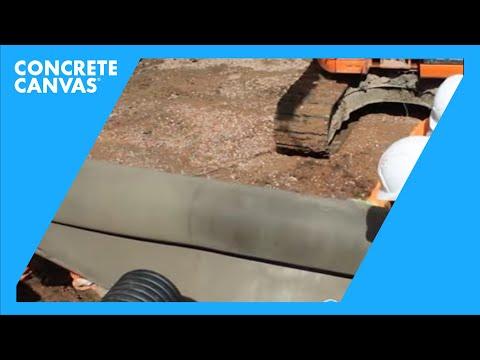 Allington Wide Roll Ditch Lining Installation