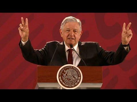 López Obrador quiere 'paz y amor' con Trump y Estados Unidos