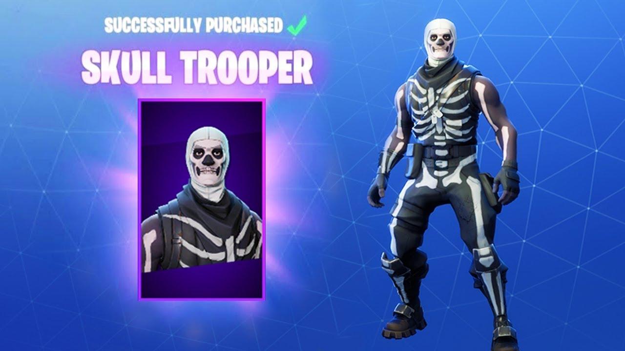 How To Get Skull Trooper In Fortnite Fortnite Rare Skins Update