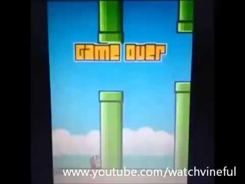Funny Flappy Bird Vine ★