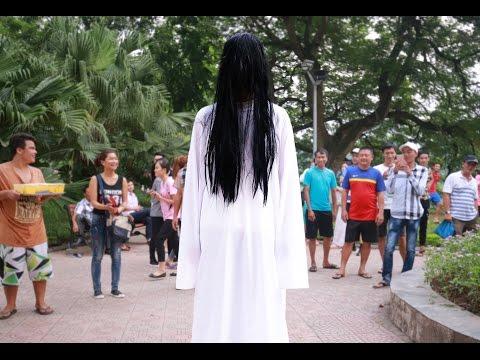 NTN - Trò Đùa Ma Nữ Xuất Hiện Giữa Ban Ngày - Naughty Ghost Prank
