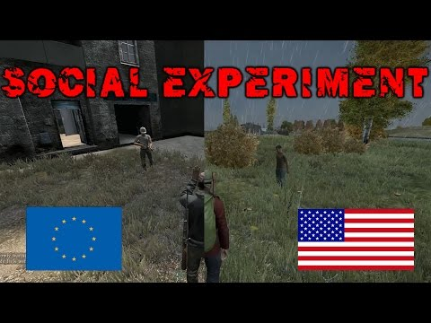 DayZ Social Experiment - EU Servers vs US Servers