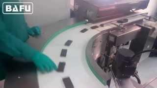 emballage automatisé de barres, barres de chocolat emballage ligne