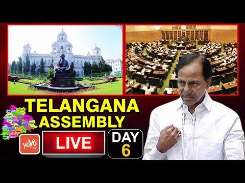 Telangana Assembly LIVE | Budget Session 2018 | CM KCR Speech | 20-03-2018 | YOYO TV Channel