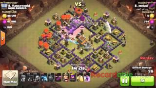 COC TH9 War Attack level 5 Ballon