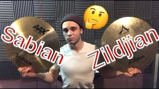[2.13 MB] SABIAN VS. ZILDJIAN! WHICH ONE SOUNDS BETTER?? WHICH ONE SHOULD YOU BUY??