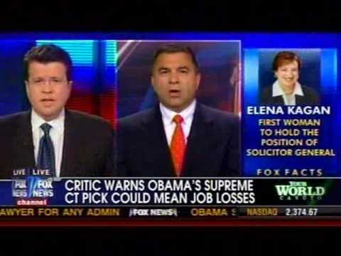 Citizens United President David N. Bossie on Fox News discussing Kagan's SCOTUS Nomination