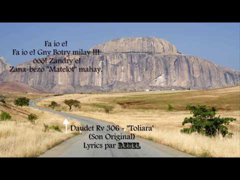 Daudet Rv 306 - Toliara Lyrics (Son Original)