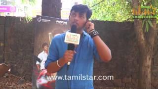 Vijaya Kumar At Uriyadi Movie Team Interview