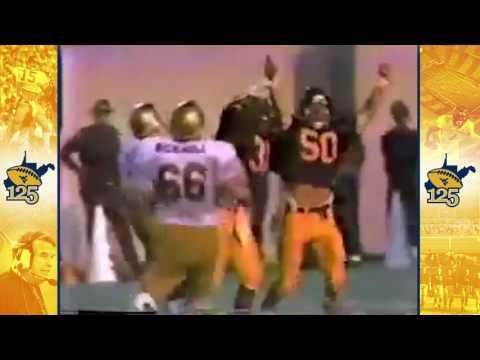 #WVU125: WVU Sacks Doug Flutie | 1984