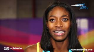 SHAUNAE MILLER UiBO ADDRESS THE 400M ISSUES AND HER 200M BRONZE