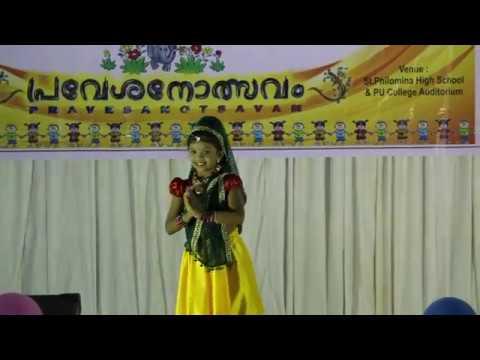 Kannadi Koodum Kootti (Pranayavarnangal) - Dance performance by Shreya