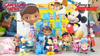 Guess Who? Disney Junior Edition Game with Kinder Playtime