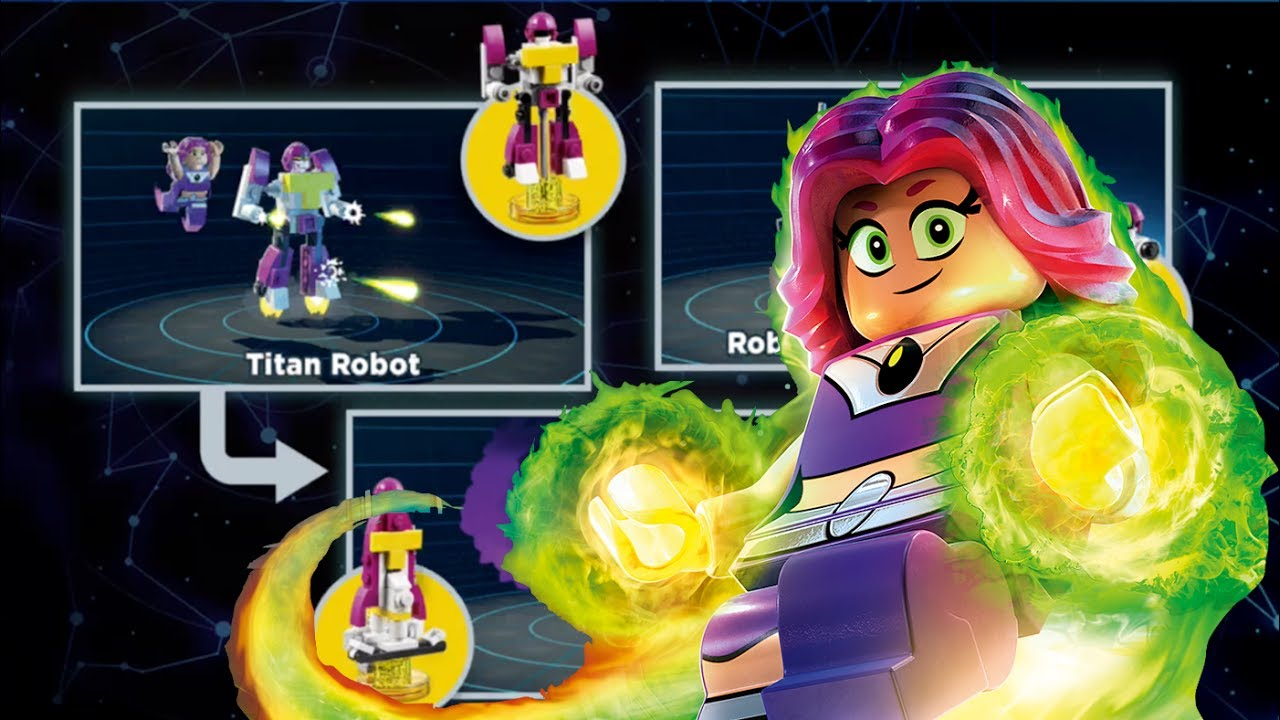 Lego Dimensions Teen Titans Go Alternate Builds Starfire -5640