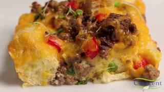 Suhoor Beef Breakfast Casserole