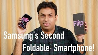 Samsung Galaxy Z Flip Foldable Smartphone Unboxing & Overview