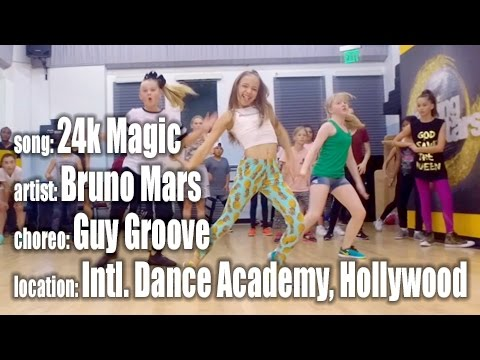 24K Magic by Bruno Mars, choreo by Guy...