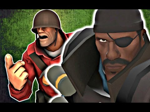 Demoman vs Soldier - The Rap Battle