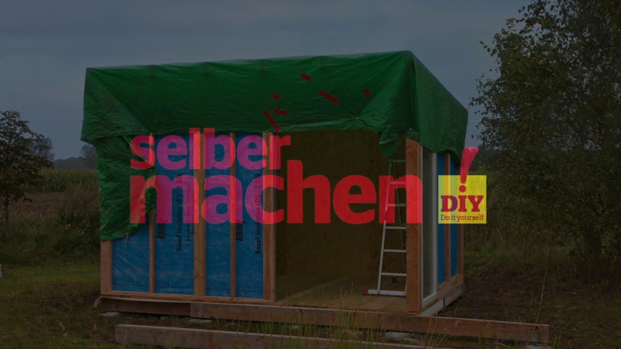 Gartenhaus Selber Bauen Wände Selber Machen Thewikihow