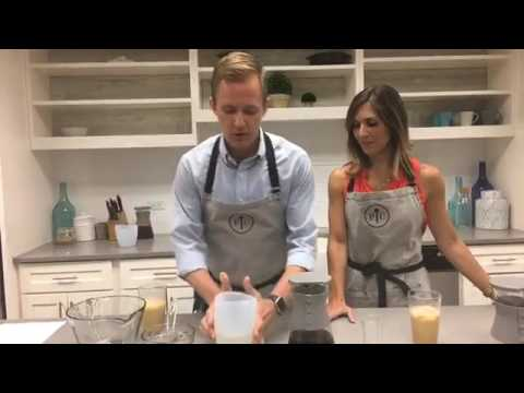 Pampered Chef Test Kitchens Cold Brew Demo