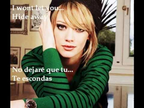 Hilary Duff - Hide Away Sub. Español