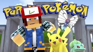 Minecraft: O COMEÇO DO PARQUE !! (Parque Pokémon #08)