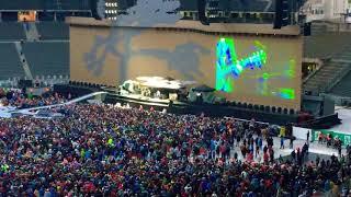 Noel Gallagher - Wonderwall  Support U2 12.7.17 Olympiastadion Berlin
