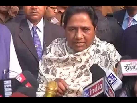 BSP will form the Govt with a majority: Mayawati after casting vote