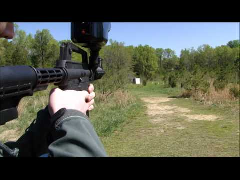 Shooting The Tippmann US Army Alpha Black Tactical