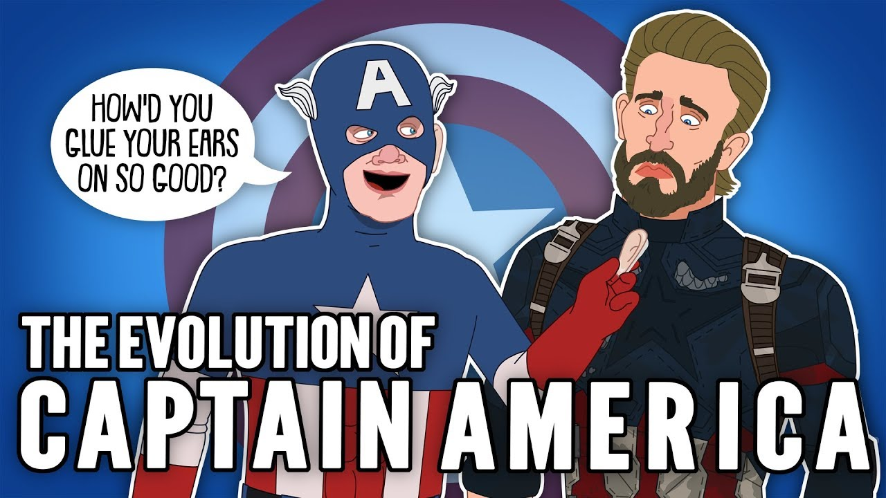 Download The Evolution of Captain America (Animated)