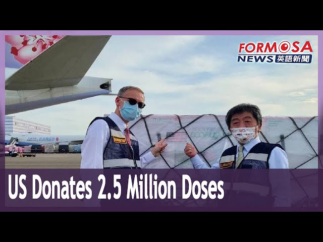 President Tsai thanks US for donation of 2.5 million doses of Moderna vaccine