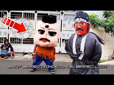 Badut BerPECI vs Ondel Ondel PECIAN, Lucu..!! 🎼 Dj YA HABIBAL QOLBI 👍